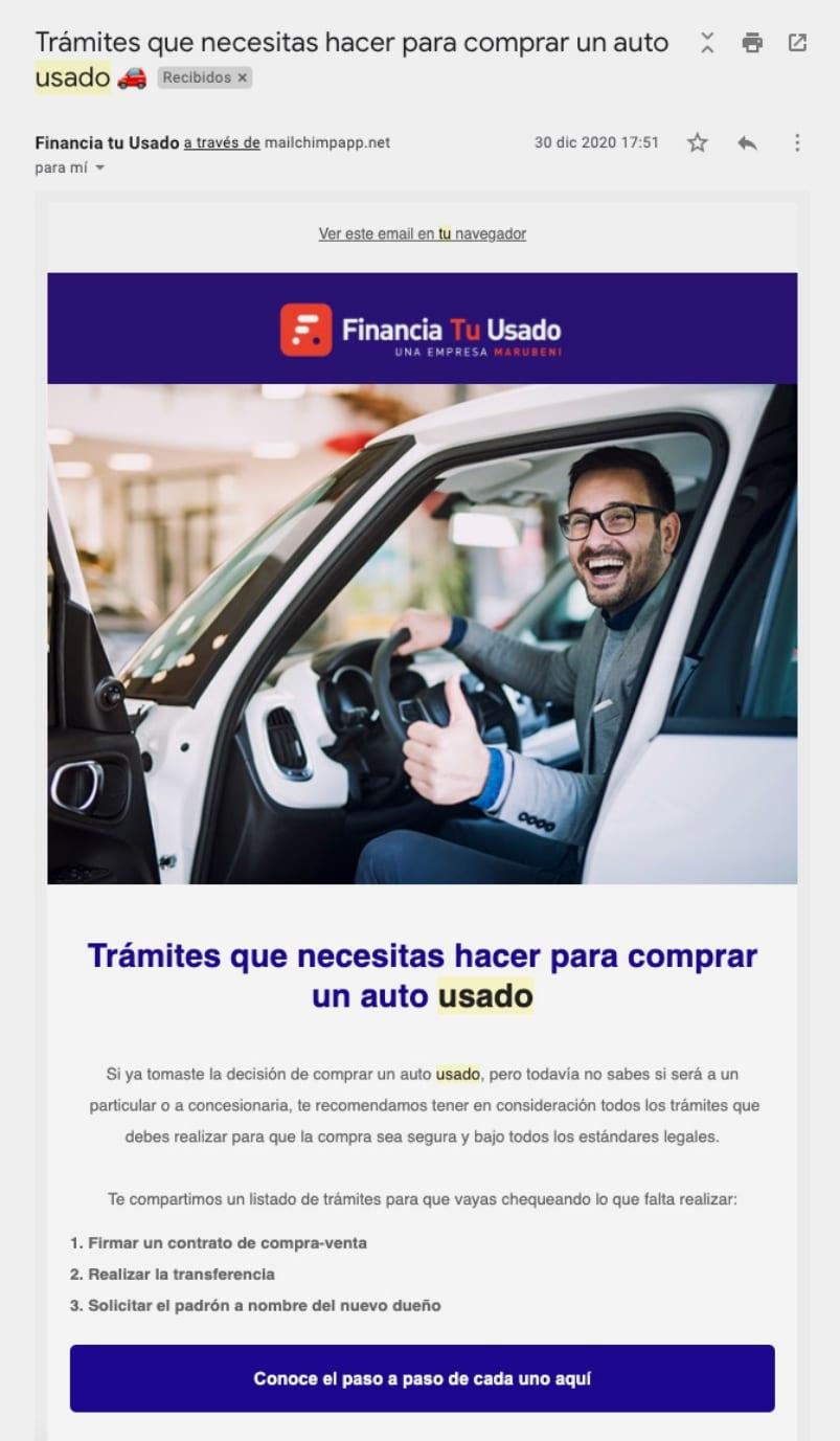 Marketing 3 Financia Tu Usado